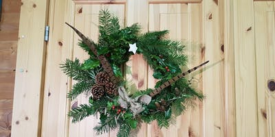 Wild Winter Wreaths: ***** Workshop at College Lake