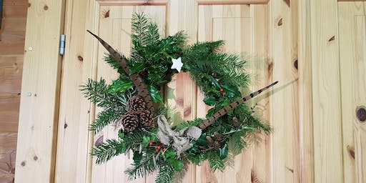 Wild Winter Wreaths: 12+ years Workshop at College Lake