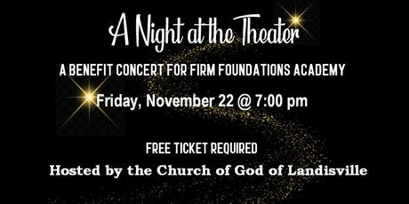 A Night at the Theater Benefit Concert tickets