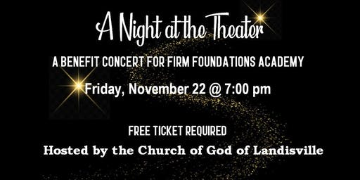 A Night at the Theater Benefit Concert