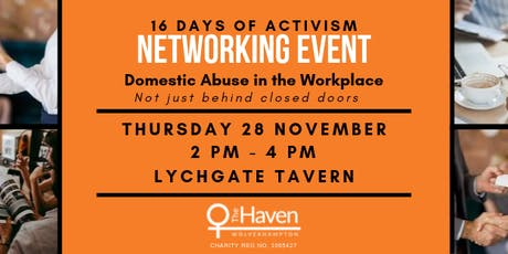 Domestic Abuse in the Workplace Networking Event tickets