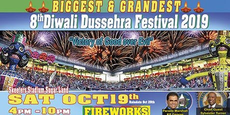 Diwali Dussehra Festival 2019 tickets