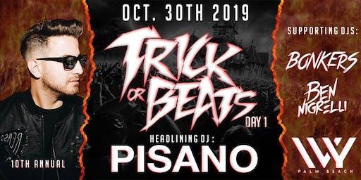 TRICK OR BEATS DAY 1 @ IVY PALM BEACH W/ ANTHONY PISANO