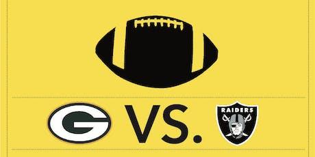 Packers Vs. Raiders Tailgate tickets
