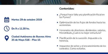 Conferencia sin cargo - Planificación fiscal para la empresa pyme entradas