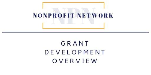 October Nonprofit Network - Grant Development Overview