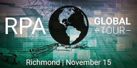 2019 RPA Global Tour - Richmond VA tickets