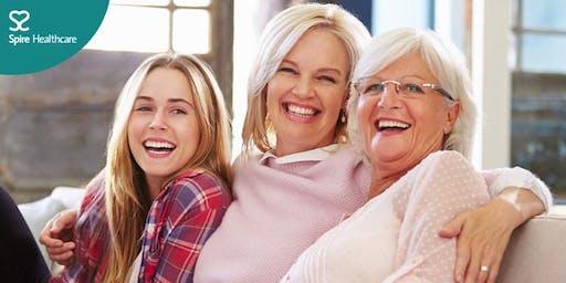 Information evening on women's health