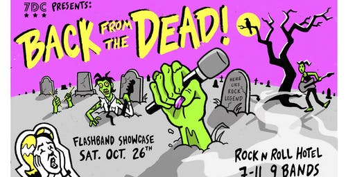 Back From The Dead Flashband Showcase by 7DrumCity