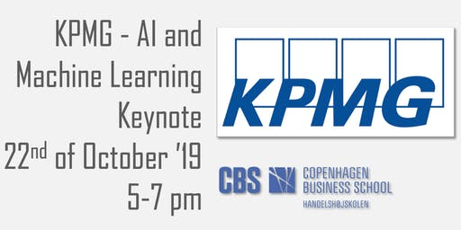 KPMG - Artificial Intelligence and Machine Learning Keynote