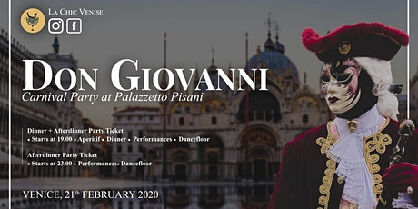 Carnival at Palazzetto Pisani - il Don Giovanni - tickets