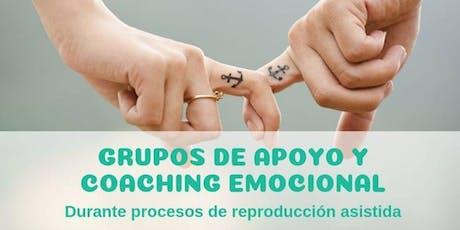 Grupos de apoyo y coaching emocional entradas