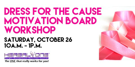 Dress for the Cause Motivation Board Workshop