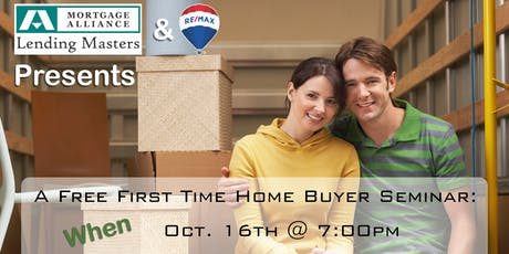 Thinking of Buying a Home? NEXT STEPS To Making it a REALITY tickets
