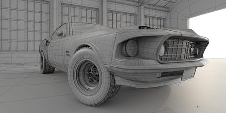 """WORKSHOP: GAME ART & 3D ANIMATION """"3D Asset Creation for Film and Game"""" tickets"""