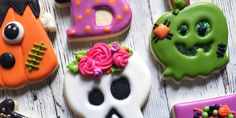 Decorate Halloween Cookies with The Cookie Canvas tickets