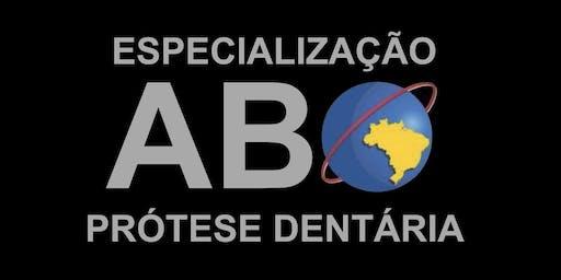 Encontro de Ex-Alunos da Especialização em Prótese Dentária ABO-PR
