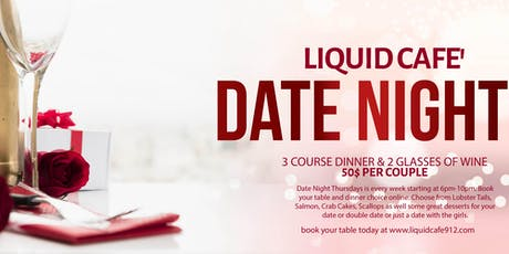 Date Night at Liquid Cafe' tickets