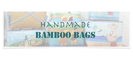 The perfect Christmas Gift: Handmade Bamboo Bags tickets
