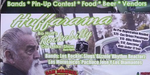 Huffarama Car show