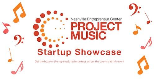 Project Music Portfolio Startup Showcase 2019