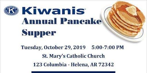 PANCAKE SUPPER- Kiwanis Club of Helena-West Helena