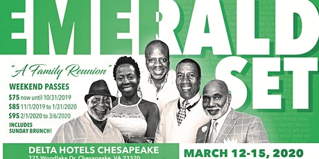 """The Emerald Set 2020 """"A Family Reunion"""" tickets"""
