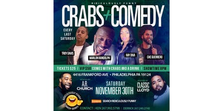 RIDICULOUSLY FUNNY COMEDY SERIES NOVEMBER tickets