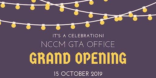 NCCM GTA Office Grand Opening!