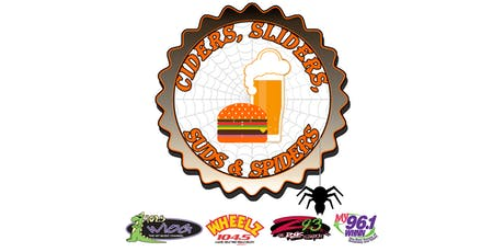 Ciders, Sliders, Suds and Spiders on Midland Street tickets