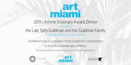 2019 Visionary Award Dinner Honoring the Late Tony Goldman & Goldman Family