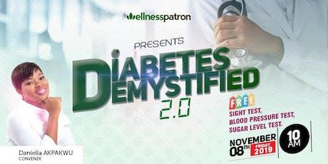 Diabetes Demystified 2.0 tickets