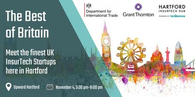 Hartford InsurTech Hub: The Best of Britain sponsored by Grant Thornton