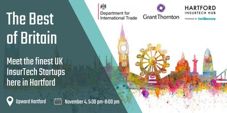 Hartford InsurTech Hub: The Best of Britain sponsored by Grant Thornton tickets