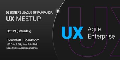 DLP - UX Meetup tickets