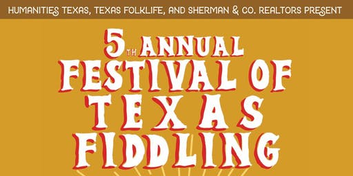 5th Annual Festival of Texas Fiddling Dec. 6th-7th