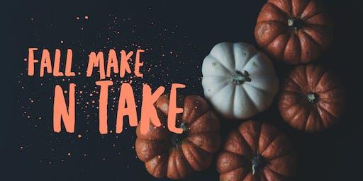 October Make n Take
