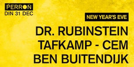 NYE: Dr. Rubinstein, Tafkamp, CEM, Ben Buitendijk tickets