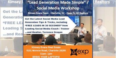 LEAD GENERATION MADE SIMPLE - SOCIAL MEDIA WORKSHOP