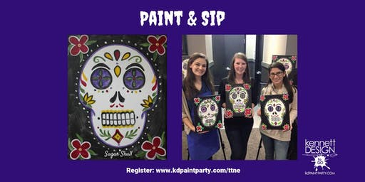 Paint and Sip - Sugar Skull - 10/27 - Taco's and Tequila, North East, MD