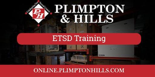 ETSD Training