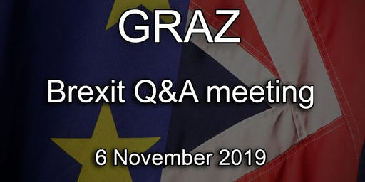 Graz - British Embassy Brexit Q&A Event