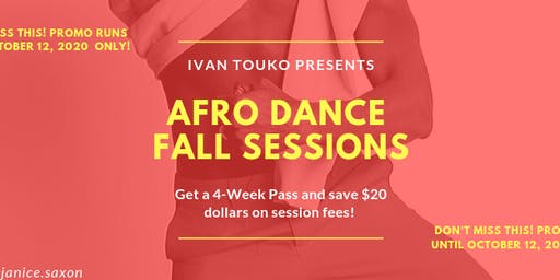 Afro Dance Fall Sessions With Ivan