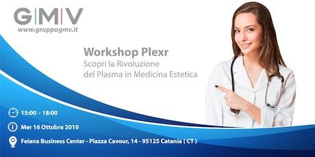 Workshop Plexr by GMV - Catania 16 ottobre biglietti