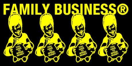 FAMILY BUSINESS® – IUTER & Octopus Brand biglietti