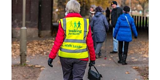 Walking for Health Walk Leader Training