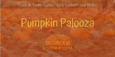 Pumpkin Palooza tickets