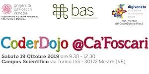 CoderDojo @Ca'Foscari - Mestre, 19 ottobre 2019