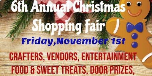 6th Annual Christmas Shopping Fair