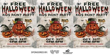 Free Halloween Kids Paint Party tickets